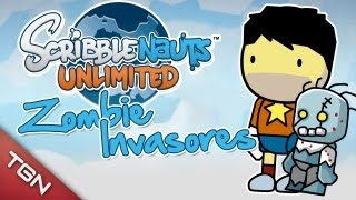 Scribblenauts Unlimited: ¡EMERGENCIA!, Zombies Invasores