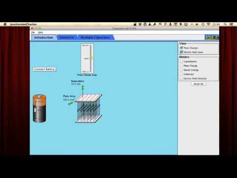 Capacitance Tutorial Intro