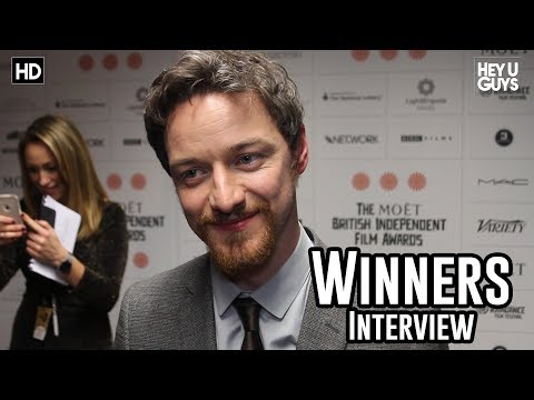 James McAvoy Interview - British Independent Film Awards 2013