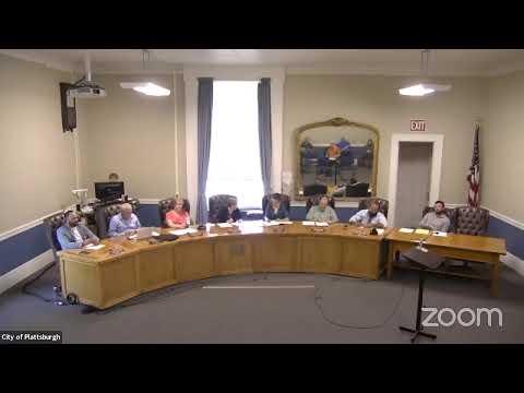 Plattsburgh Common Council Meeting  8-5-21
