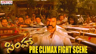 Balakrishna Pre Climax Fight- Simha Movie