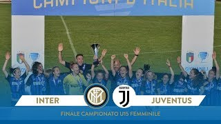 Inter-Juventus U15 Women 5-3 on penalties | HIGHLIGHTS | Women U15 Championship Final