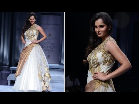Sania Mirza Walks For Shantanu And Nikhil  At Aamby Valley Bridal Fashion Week 2013
