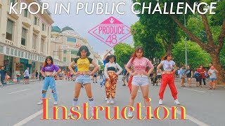Kpop In Public Challenge// Produce48 - Instruction(jax Jones) Dance Cover By Cli-max Crew