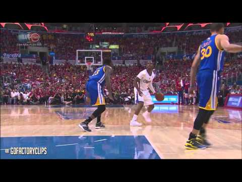 Chris Paul Full Highlights vs Warriors 2014 Playoffs West R1G7 - 22 Pts, 14 Ast