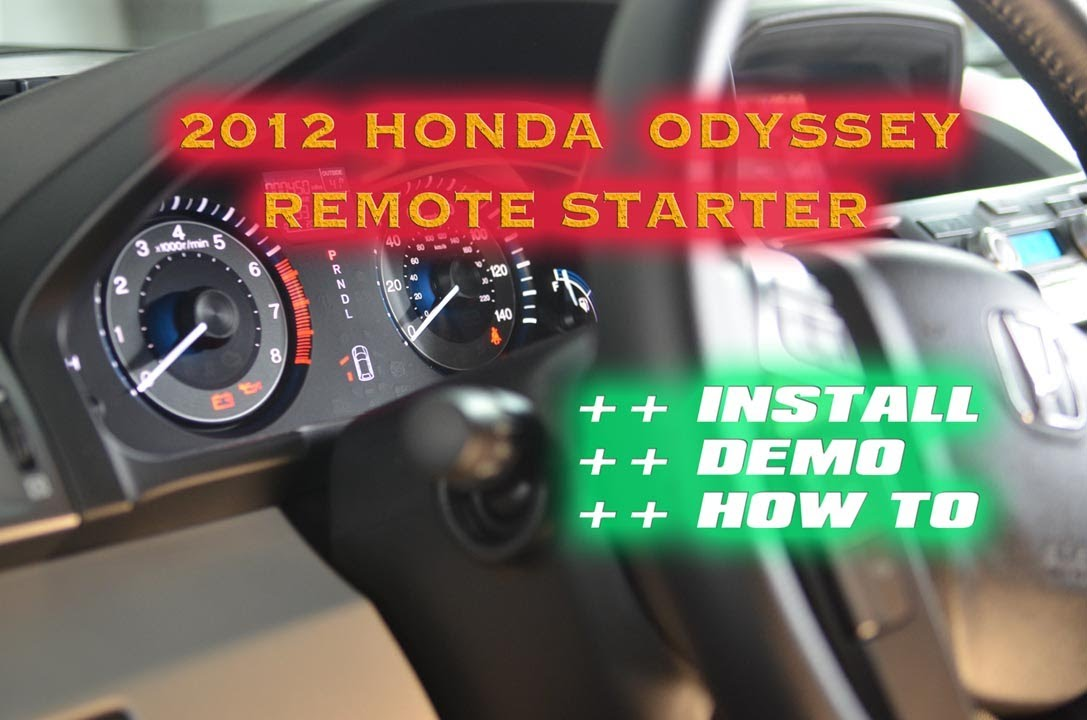 Honda Odyssey Remote Start 2012 Prestige Idatalink