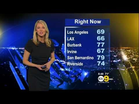 Evelyn Taft 2011/05/04 8PM KCAL9 HD; Black dress