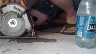 Concrete Cutting Fail