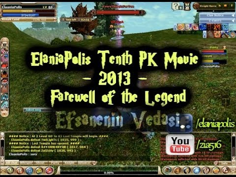 ElaniaPolis Tenth PK Movie - 2013 - Farewell of the Legend !