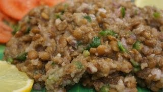 Ethiopian Food - Azifa Recipe Vegan lentil salad