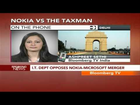 In Business- I.T. Dept Opposes Nokia-Microsoft Merger