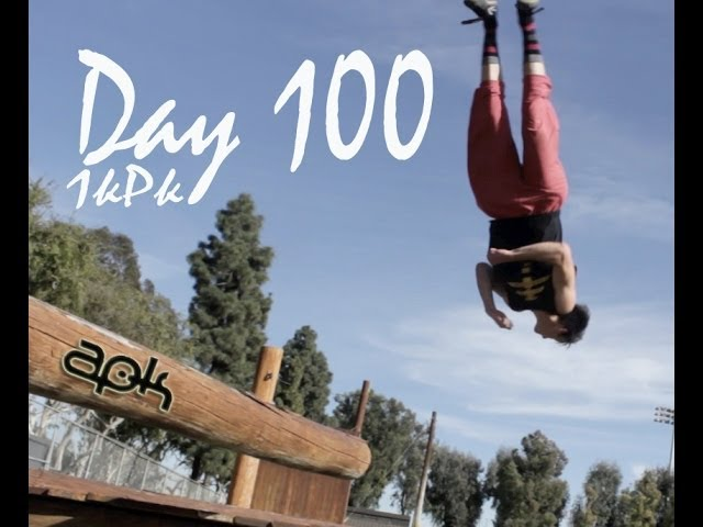 100 Days of Parkour | Jimmy Davidson 1KPK