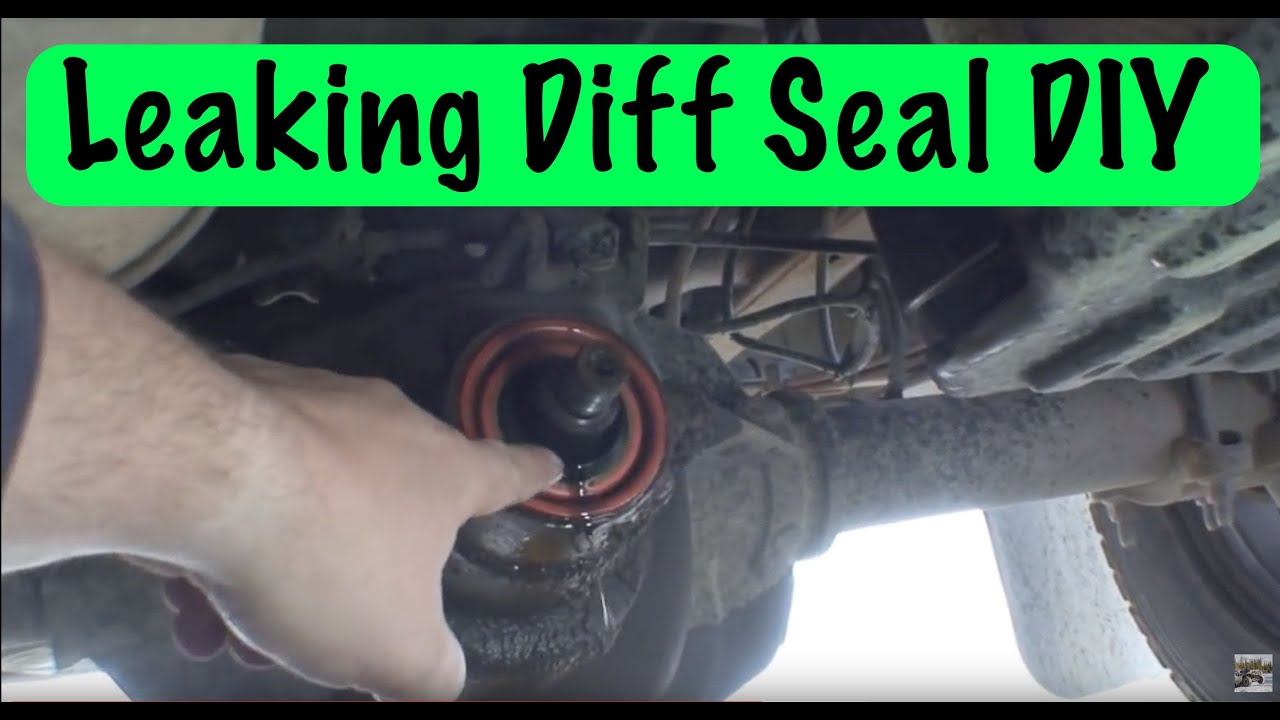 How To Replace A Rear Differential Pinion Seal Youtube