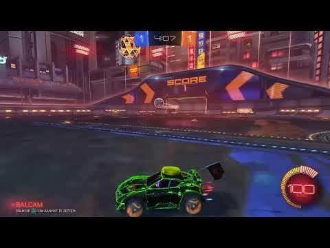 Rocket league mijn keeper skills