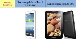 Samsung Galaxy Tab 3 7.0 P3200 Over Lenovo IdeaTab A3000
