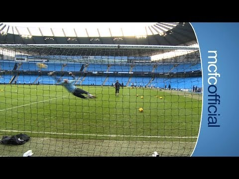 INSIDE CITY 105: Hart's Brilliant Save