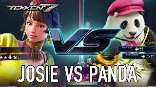 TEKKEN 7 - Josie VS Panda Játékmenet