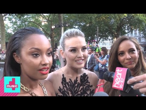 Perrie Edwards and Little Mix at One Direction: This Is Us Movie Premiere | 4Music