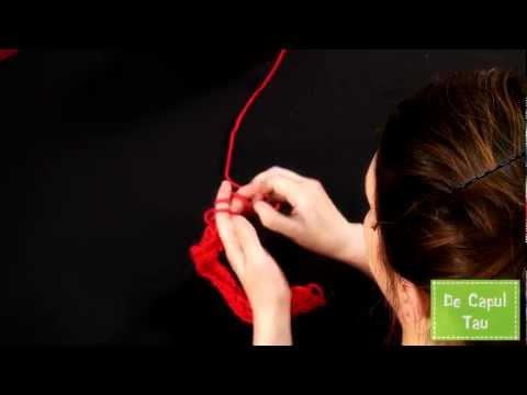 Cum sa tricotezi cu degetele