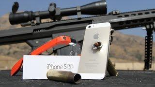 Gold iPhone 5S vs 50 Cal #ThroughGlass Google Glass
