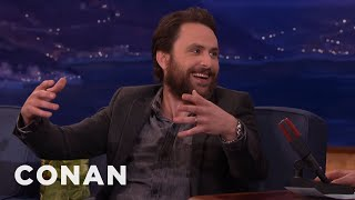 Charlie Day Almost Killed Danny DeVito  - CONAN on TBS