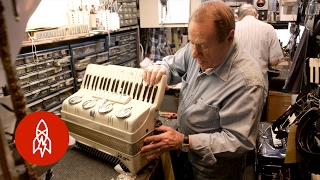 New York City's Last Accordion Repairman