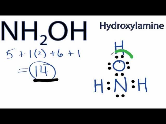 Displaying  20  Gallery Images For Nh2oh Lewis Structure   Nh2coh Lewis Structure
