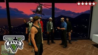 GTA 5 House Party!! GTA 5 Arial Death! Hanging With