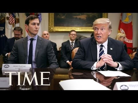 Trump Creates New White House Office Headed By His Son-In-Law Jared Kushner | TIME