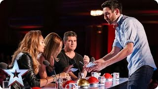 Can Jamie conjure up four yeses? | Audition Week 2 | Britain's Got Talent 2015