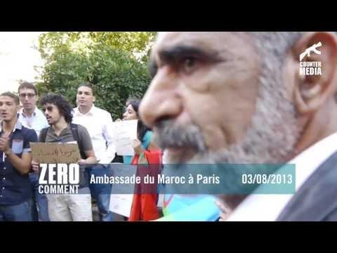 ZERO COMMENT - Ambassade du Maroc à Paris 03/08/2013