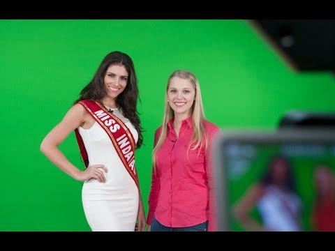 Entrevista com a Miss Indaial, Morgana Beber