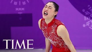 Mirai Nagasu Makes History As The First American Woman To Land A Triple Axel At The Olympics   TIME