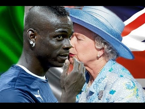 Mario Balotelli 'Wants Kiss From The Queen' If Italy Help England Stay In World Cup!!!