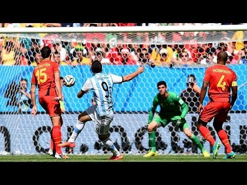 Arg vs Bel 1:0 Argentina vs Belgium FIFA World Cup Brazil 2014 Goals & Highlights Review