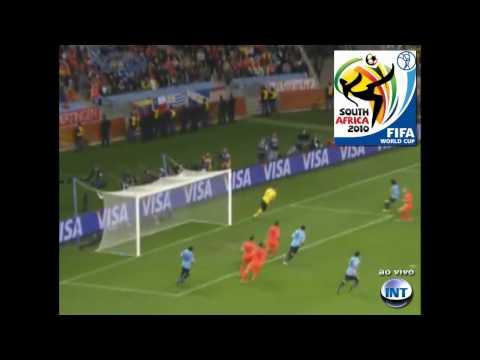 Uruguai 2x3 Holanda - Copa 2010 - Semi-Final