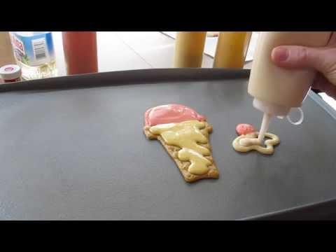 Comment faire des pancakes en forme de glace ?