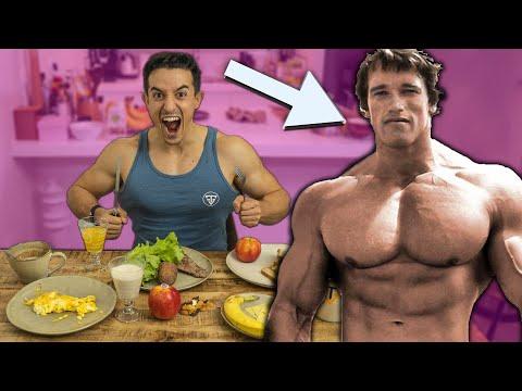 Je mange comme Arnold Schwarzenegger pendant 24h !