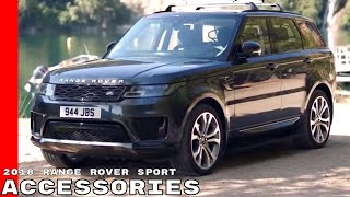 2018 Range Rover Sport Accessories