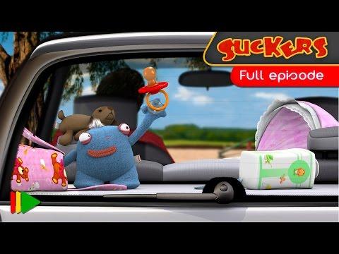 Přísavky 9 - Dítě v autě