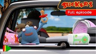 Prísavky 9 - Dieťa v aute