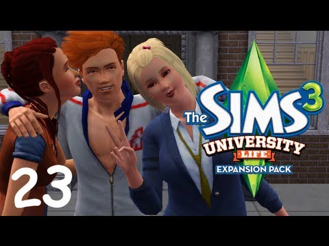 Let's Play: The Sims 3 University Life - (Part 23) - Fried Chicken and Forbidden Fruit, → The Sims 3 University Life Gameplay: Elliot throws another party and Sofia gets another forbidden fruit seed. → Get a text EVERY TIME I upload a 9new video....