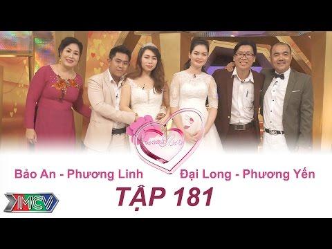 Bảo An - Phương Linh | Đại Long - Phương Yến | VỢ CHỒNG SON - Tập 181 | VCS #181 | 050217