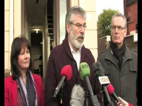 Gerry Adams calls on Parties to embrace Haass Proposals