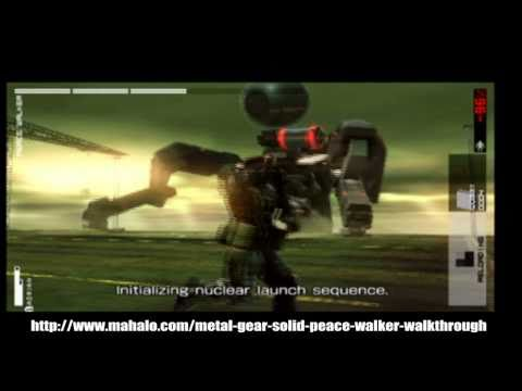 Metal Gear Solid: Peace Walker Walkthrough - Level 25- Peace Walker Battle 2- Part 1/2