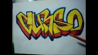Video Aula Com Gene Do Grafite 007 Letra E Sombra 5/5