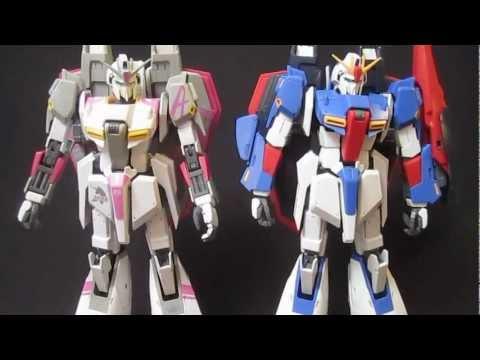 MG White Zeta (Part 3: MS) Amuro Ray's Zeta Gundam gunpla model review