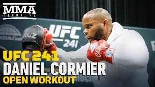 UFC 241: Daniel Cormier Open Workout Highlights - MMA Fighting