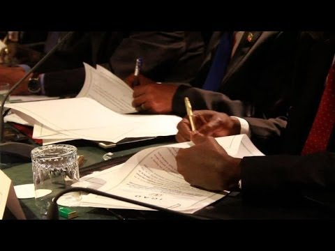 Rebels and government in South Sudan sign ceasefire