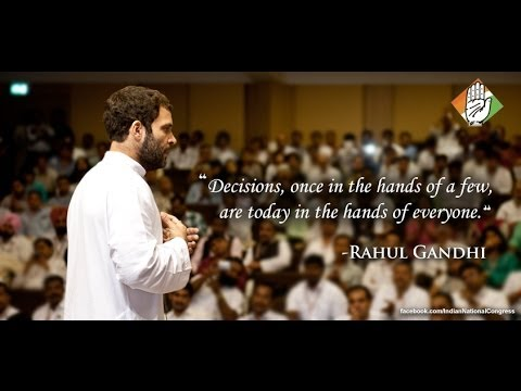 Rahul Gandhi on Congress-led UPA government's achievements